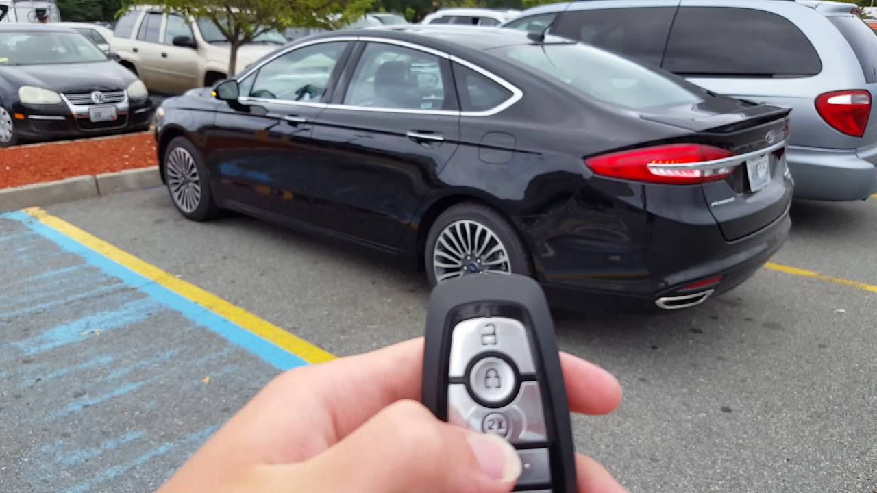 2017 ford fusion titanium remote start demonstration youtube 2017 ford fusion titanium remote start demonstration sciox Image collections