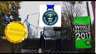 Breaking world records on trampoline