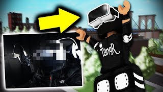 BLINDFOLDED CHALLENGE *FACECAM* | Super Power Training Simulator (ROBLOX)