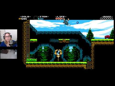 Malukah Plays Shovel Knight - Ep.1: And I calmly rage quit. hahaha!