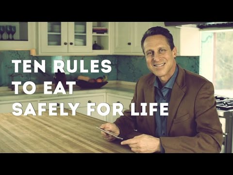 Foods That Lower Cholesterol - Ten Rules to Eat Safely for Life