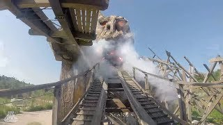Colossos - Kampf der Giganten - POV - Heide Park Resort - Intamin/Holzbau Cordes - Wooden Coaster