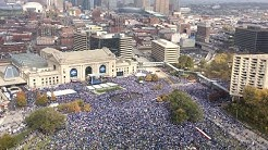 A Royal Celebration: Video and images of the Nov. 3 parade and rally in Kansas City