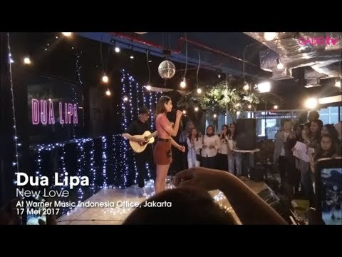 Dua Lipa - New Love (Live At Warner Music Indonesia)