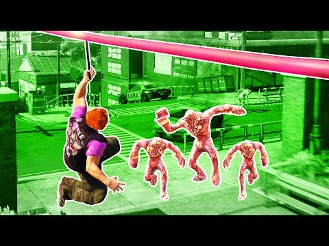 i'm like spiderman but with guns and zombies in sunset overdrive |