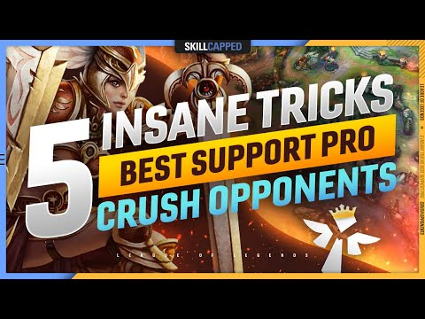 5 INSANE TRICKS the BEST SUPPORT PLAYER uses to CRUSH OPPONENTS – League of Legends