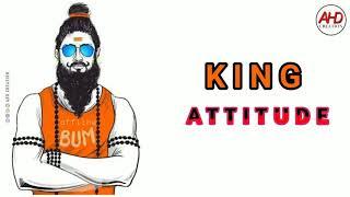 Rowdy👑 king Attitude gana song whatsapp status video free download