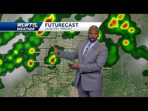 Storms Friday Then A Nice Weekend
