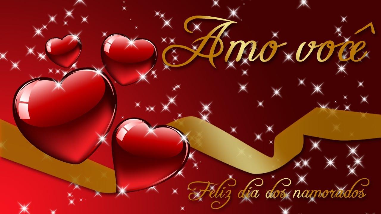 Dia Dos Namorados: Cartão Para O Dia Dos Namorados. (HD)