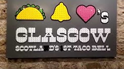 #Tacobell in Glasgow Scotland eating a Doritos Burrito FT. @Hodgetwins