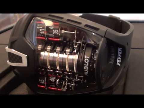 Exclusive Hublot MP-05 LaFerrari Ferrari Tourbillon Watch 50 Day Power Reserve