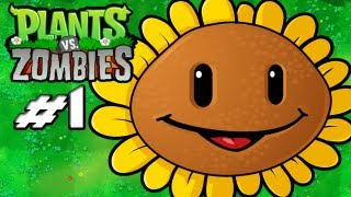 Video Plants Vs. Zombies - Gameplay Walkthrough Part 1 - Introduction (World 1) (HD Let's Play) download MP3, 3GP, MP4, WEBM, AVI, FLV April 2018