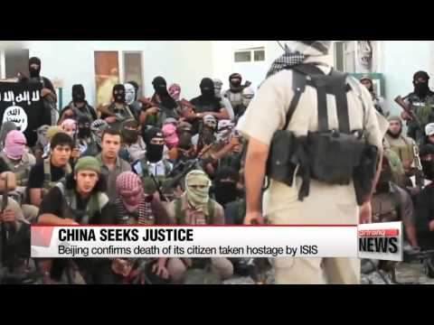 Beijing condemns ISIS for executing Chinese hostage   중국인도 IS에 살해당해…중국당국 ″범