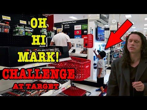 Download Youtube: OH HI MARK! CHALLENGE at TARGET
