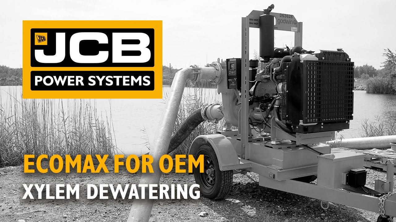 JCB Power Systems OEM Engines - Xylem Dewatering Pump Testimonial