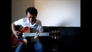 Autumn Leaves Part 1 - Barney Kessel transcribed Guitar Solo 巴尼.基索
