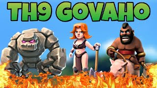 Th9 GoVaHo War Attack Strategy | Part 3 | Clash of Clans