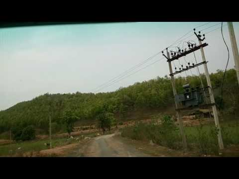 Amazing HD Travel Video Forest and Hills of India Belpahari