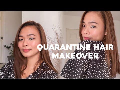 Salon Experience Hair Makeover At Home! (Quarantine Edition)