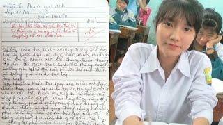 Choáng với bài văn 10 điểm của nữ sinh Nam Định gây sốt cộng đồng mạng - TIN TỨC 24H TV
