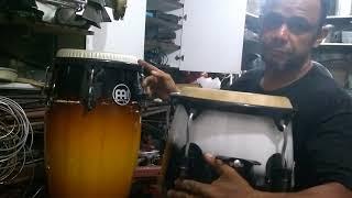 Transforme sua conga acústica nunha compacta