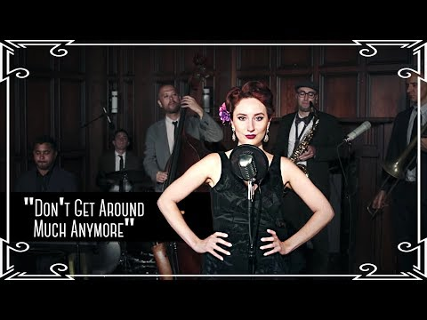 """""""Don't Get Around Much Anymore"""" Jazz Standard Cover by Robyn Adele Anderson"""