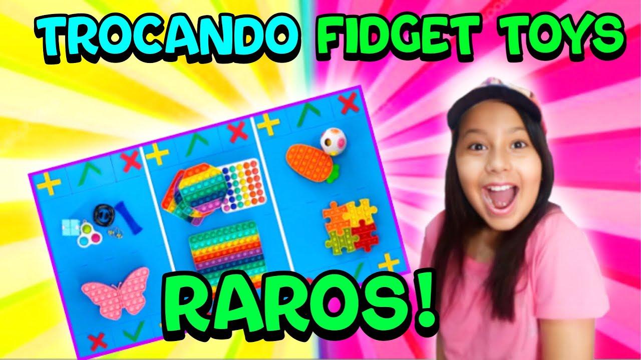 TROCA DE FIDGET TOYS RAROS!          TROCANDO FIDGET TOYS RAROS! | Luana Melo