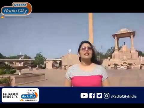 Radio City Jaipur- Rj Parul @AMAR JAWAN JYOTI
