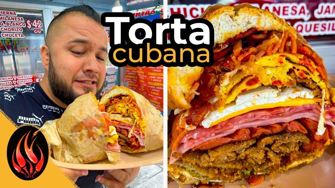 Preparo un Lonche inspirado en la TORTA CUABANA   TOQUE Y SAZON