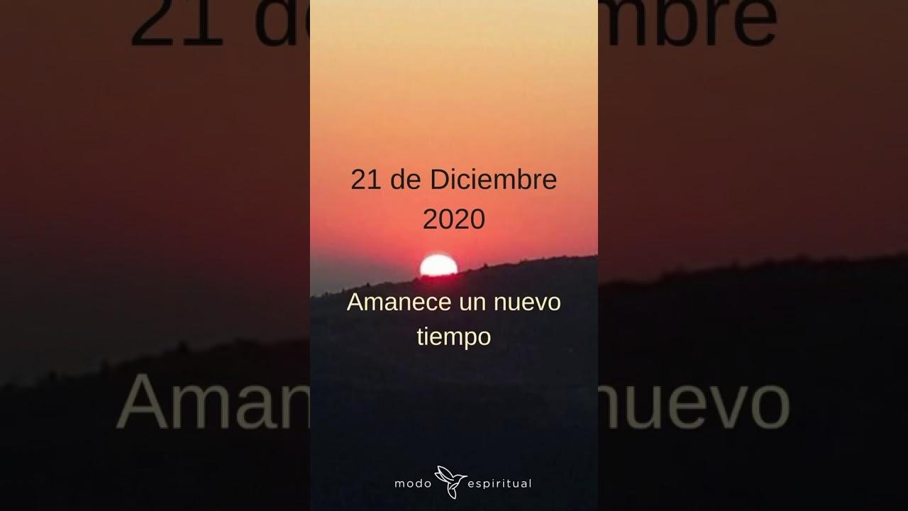Te comparto un adelanto de la energía del21 de Diciembre del 2020