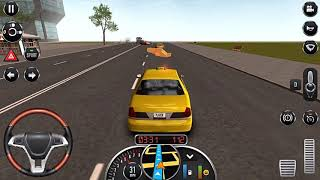 Taxi Sim 2016 #1-Simulated driving game-Android gameplay-Mobile game