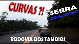 CURVAS: SERRA DA RODOVIA DOS TAMOIOS/ Caraguatatuba Litoral Norte de SP