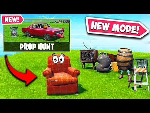 *NEW* PROP HUNT LTM IS AMAZING! - Fortnite Funny Fails and WTF Moments! #589