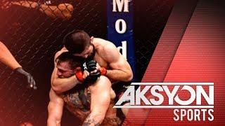 Nurmagomedov at McGregor, pinagmulta dahil sa post-fight brawl