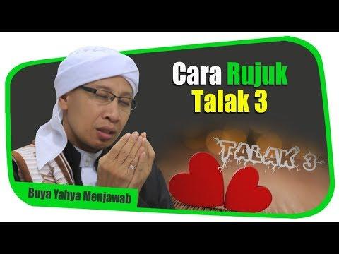 Cara Rujuk Talak Tiga Buya Yahya Menjawab Youtube