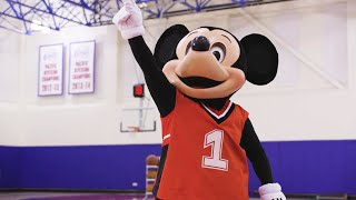 See What Happens When Mickey Mouse Visits the Los Angeles Clippers