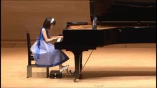 カワイ音楽コンクール Cコース J.S.バッハ 小前奏曲 第5番 BWV937 ハチ...