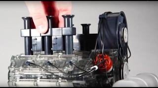 Assembly Video - Porsche Museum 6 Cylinder Boxermotor- 1:4 Scale Engine - Flat Six Fanatics