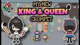 MY KING AND QUEEN CRUMPET  Toca Boca  Toca Life Skit
