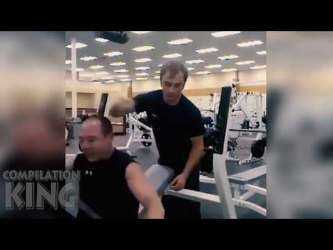 Most awkward gym moments Funny gym fail compilation!