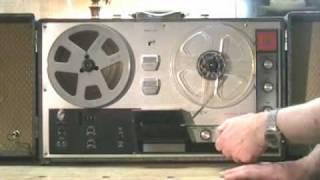 Estey Resurrection Part 2 - Restoring the Estey ETR 70 Vintage Stereo Reel to Reel Tape Recorder.