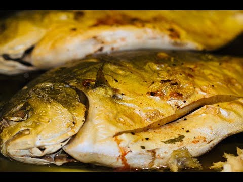 Moist And Savory Baked/ Broiled Pompano