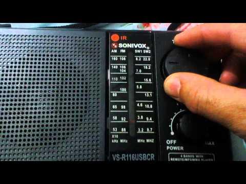 portable radio sonivox vs r 116