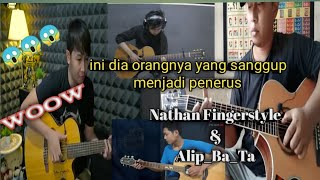 Download Lagu Woow Ini Dia Penerus Nathan Fingerstyle dan Alip_ba_ta mp3