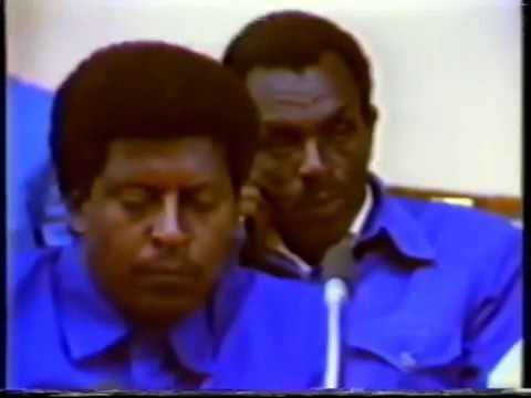 Ethiopia, Col. Mengistu on tv 1991