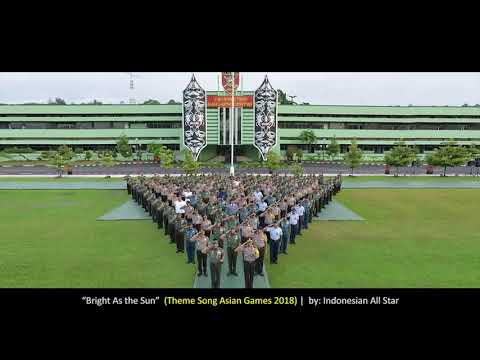 TNI Polri Siap mengamankan dan mensukseskan Asian Games 2018 by Polda Kaltim & Kodam VI MLW