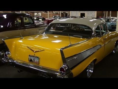 1957 chevrolet bel air 445 hp hot rod restomod youtube. Black Bedroom Furniture Sets. Home Design Ideas