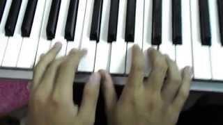 Belajar Keyboard dan Piano lagu anak Satu Satu Aku Sayang Ibu