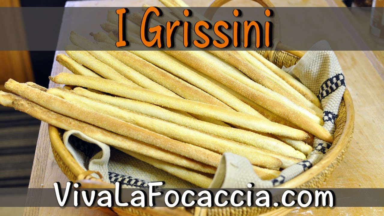 Ricetta Grissini Bonci.Video Ricetta Grissini Fatti In Casa Le Ricette Di Vivalafocaccia