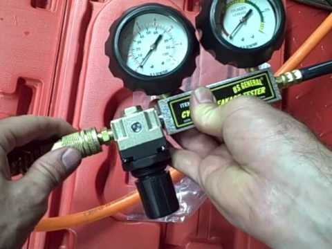 Small Engine Repair Using A Harbor Freight Leak Down